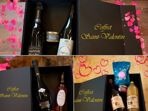 COFFRETS St-VALENTIN : La vie est une splendide Cav'Hallecade !