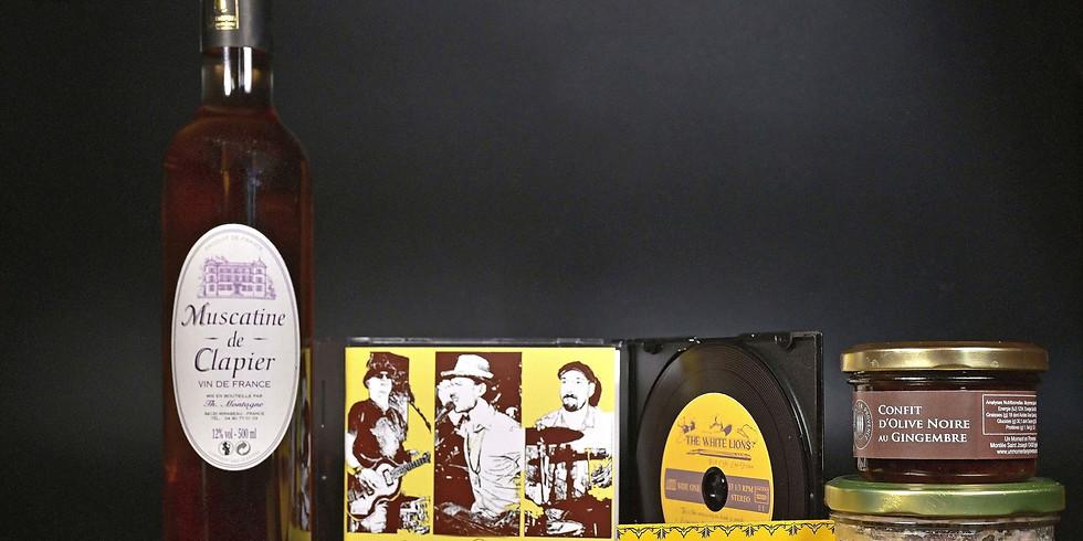 The white Lions: Séance de Dédicace, vente d'album et apéritif à emporter
