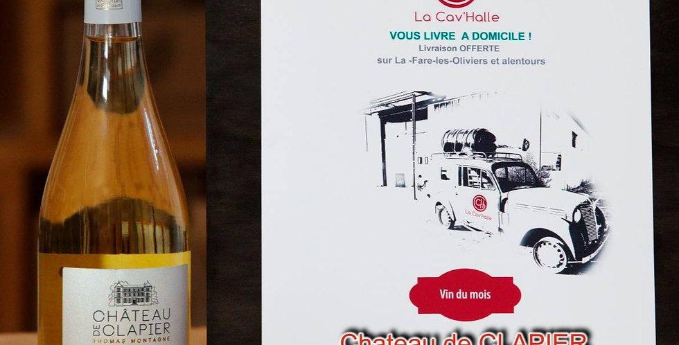 Vibrato du Château de Clapier, Luberon, blanc - 2019