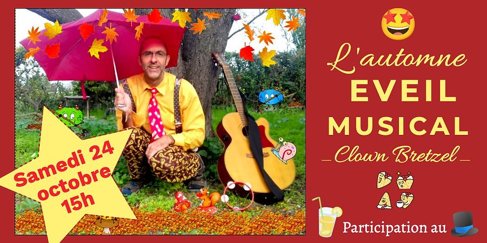 L'automne : Spectacle musical avec Clown Bretzel