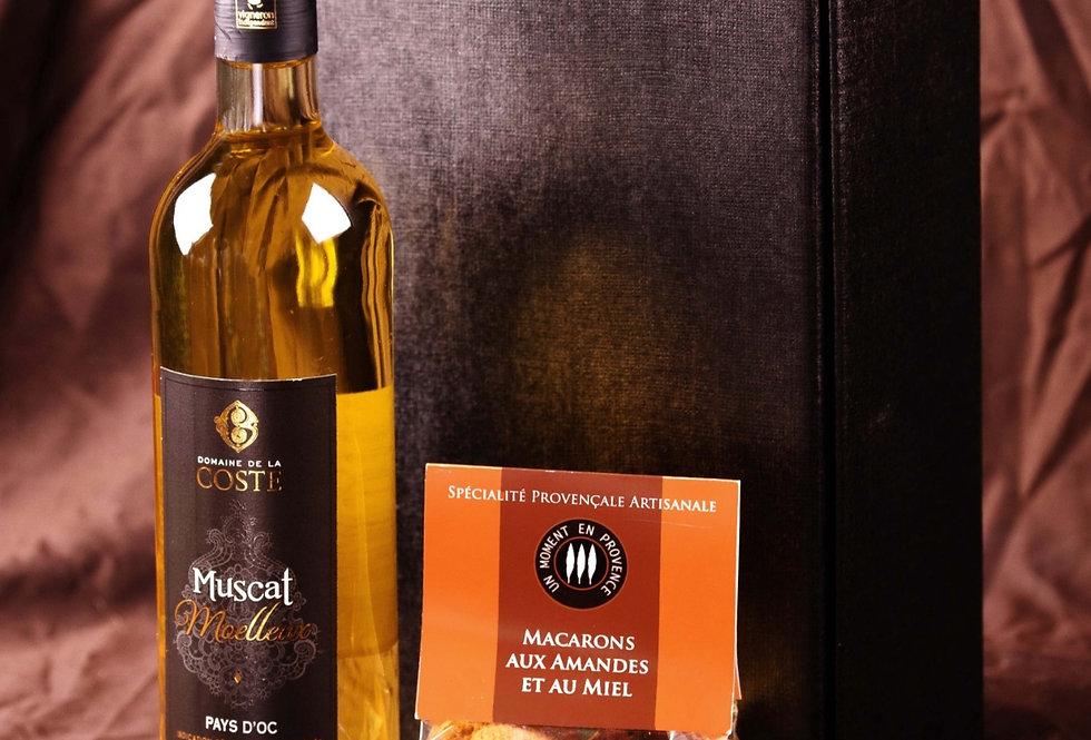 Douceur du sud - Muscat & Macarons aux amandes et au miel