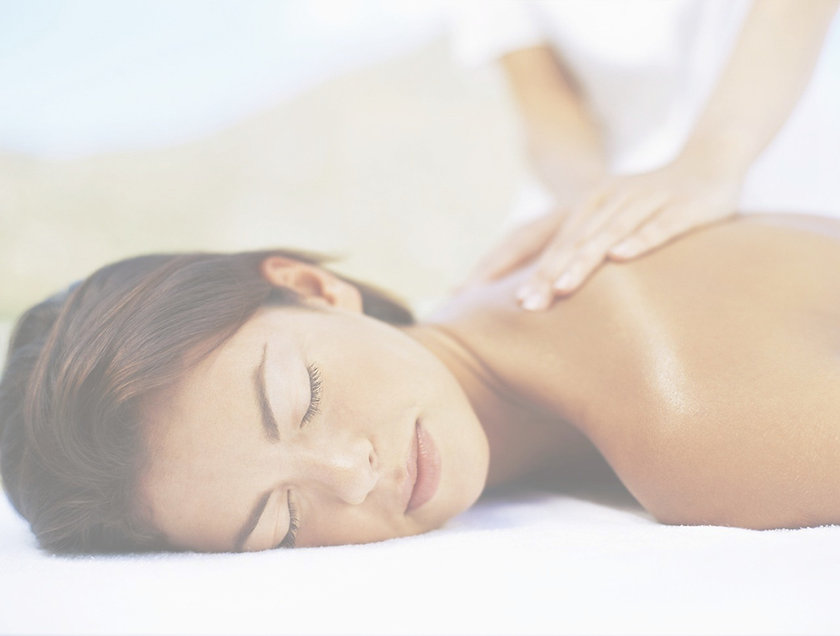 Relaxing massage treatment