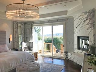 Healdsburg Residence, Master bedroom