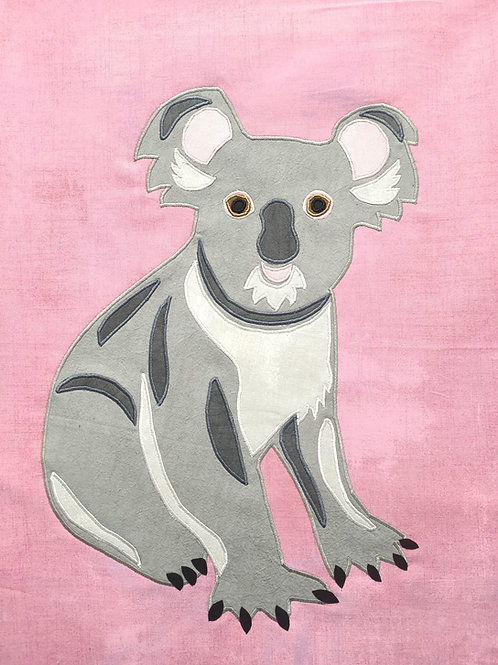 Kev the Koala Print + Stitch
