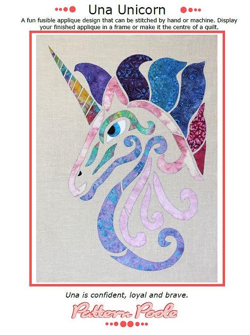 Una The Unicorn Print + Stitch