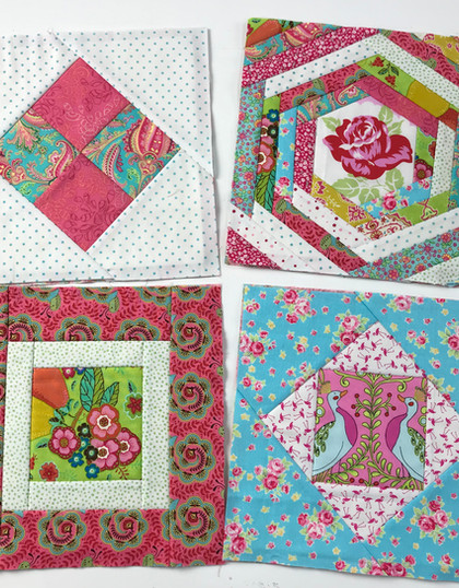 FREE QUILT AS YOU GO ALONG. PART 1.