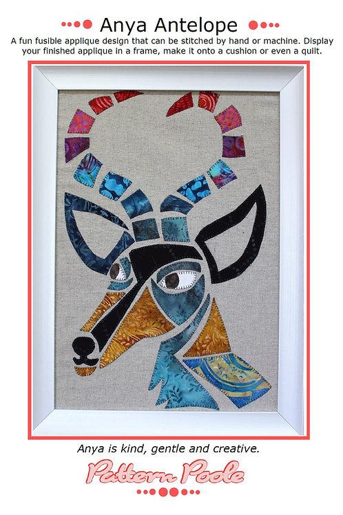 Anya Antelope Print + Stitch