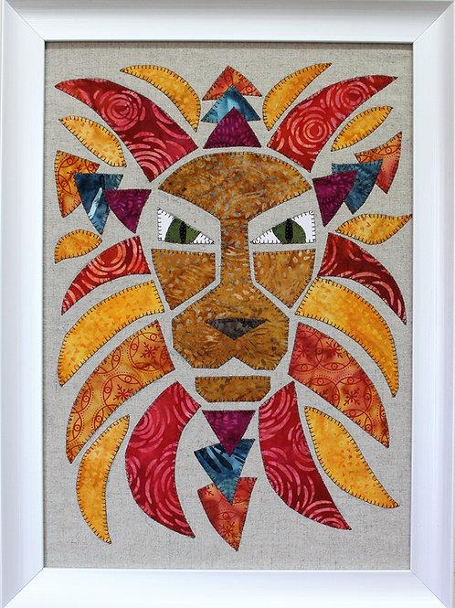 Loki Lion Appliqué Pattern