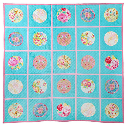 Merry Go Round Quilt As You Go Pattern