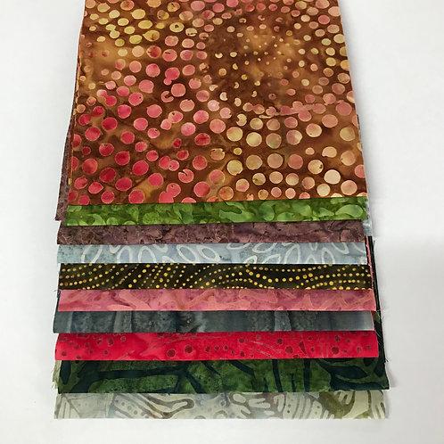 Earthy Batik Pack