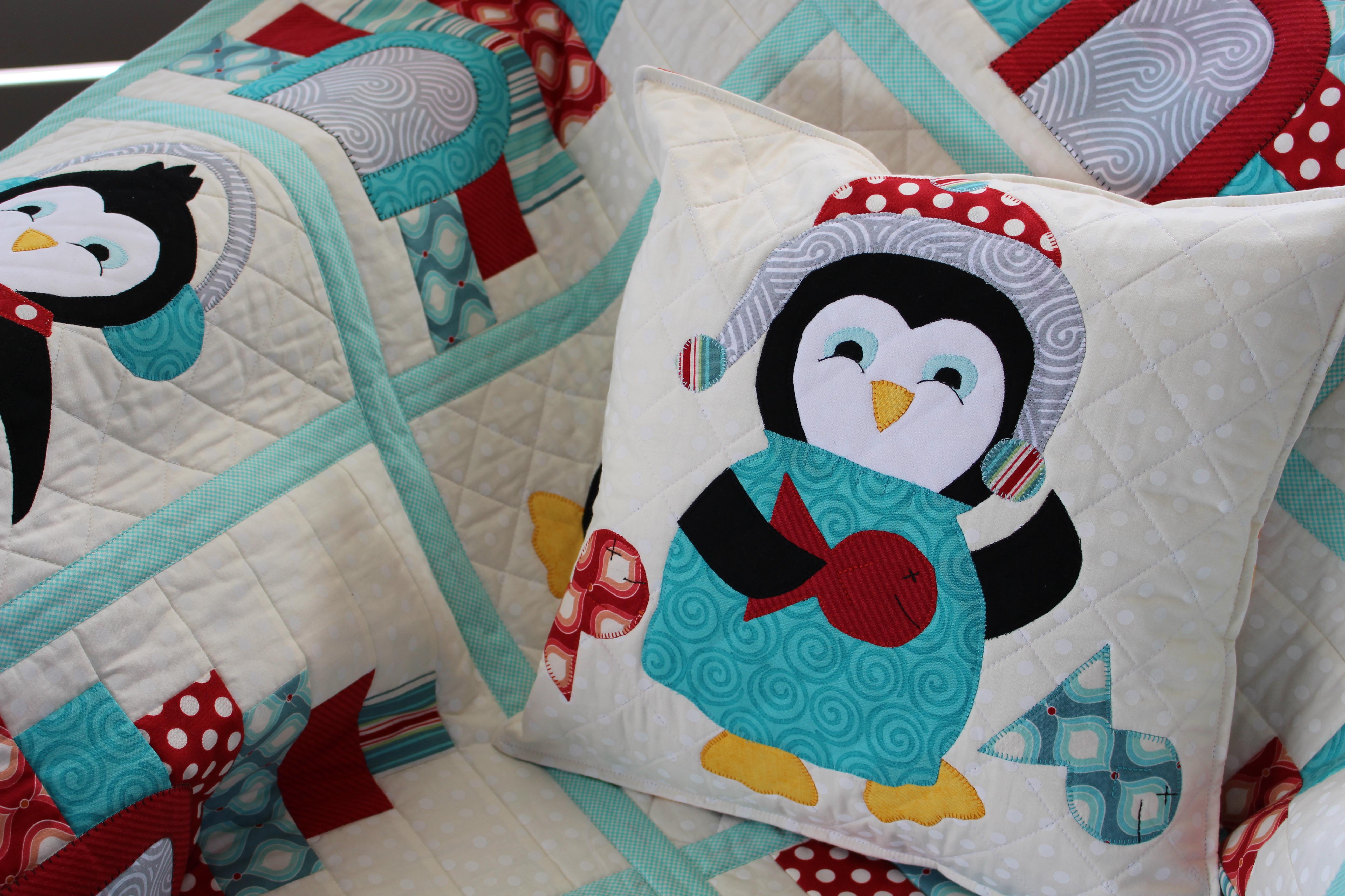 Penguin Party Closeup - Copy