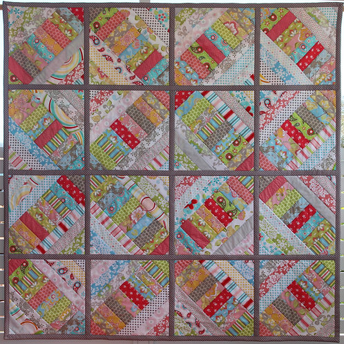 3x Humming Bird Quilt as you go Pattern