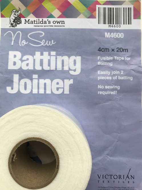 No Sew Batting Joiner