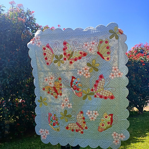 Butterfly Bliss PDF Quilt Pattern
