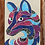 Thumbnail: Wilder the Wolf Applique Pattern