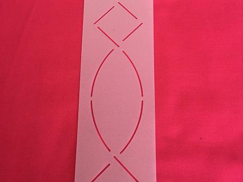 Diamond and Curve Stencil