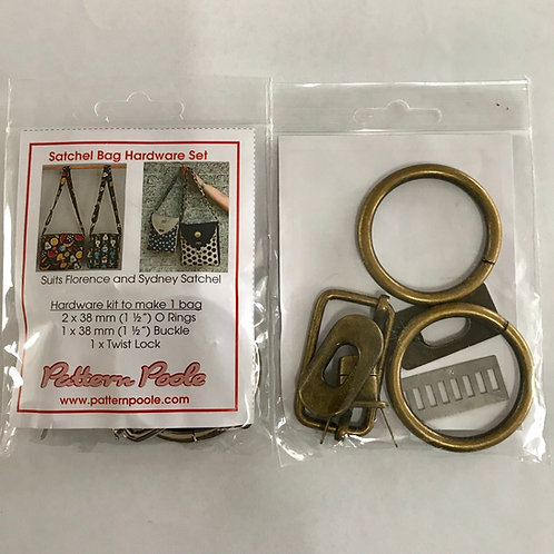Florence Satchel Hardware Kit