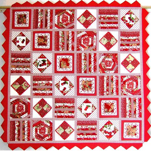 3 x Cherry Cheer Quilt Patterns