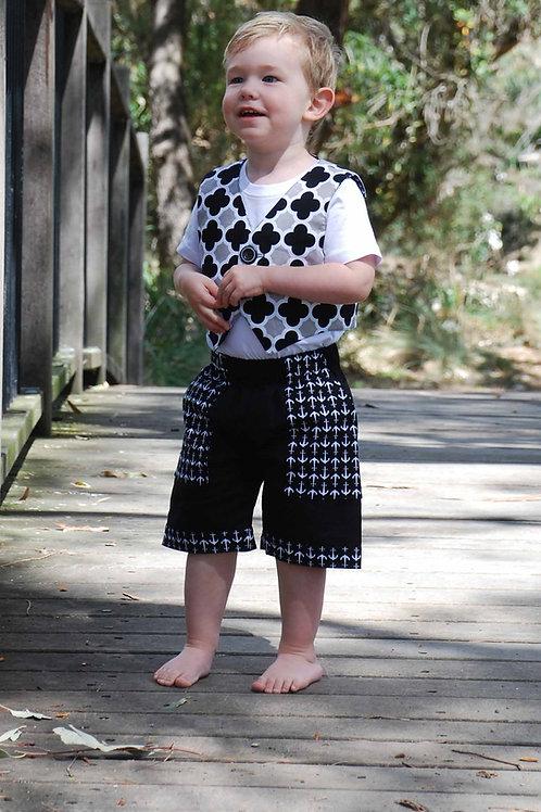 3x Jasper Vest and Shorts for Boys