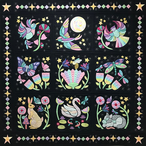 Twilight Dreaming Complete Quilt PDF Pattern