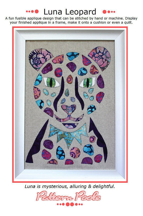 Luna Leopard Print + Stitch