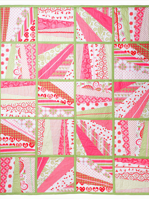 3x Fancy Free Quilt as you go Pattern