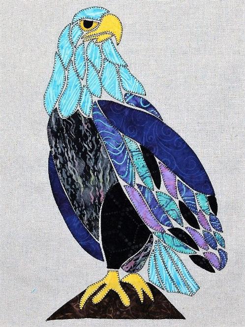 3 x Eric the Eagle Applique Patterns