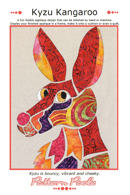Kyzu Kangaroo Print + Stitch