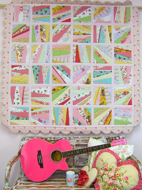 3x Sweet n Sassy quilt as you go Pattern