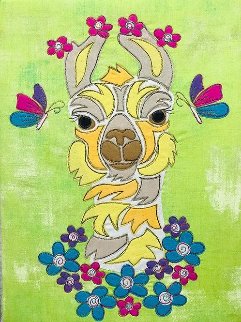 Lucy the Llama PDF Pattern