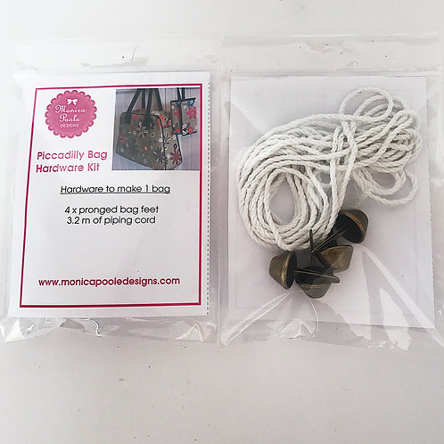 3x Piccadilly Bag Hardware Kit