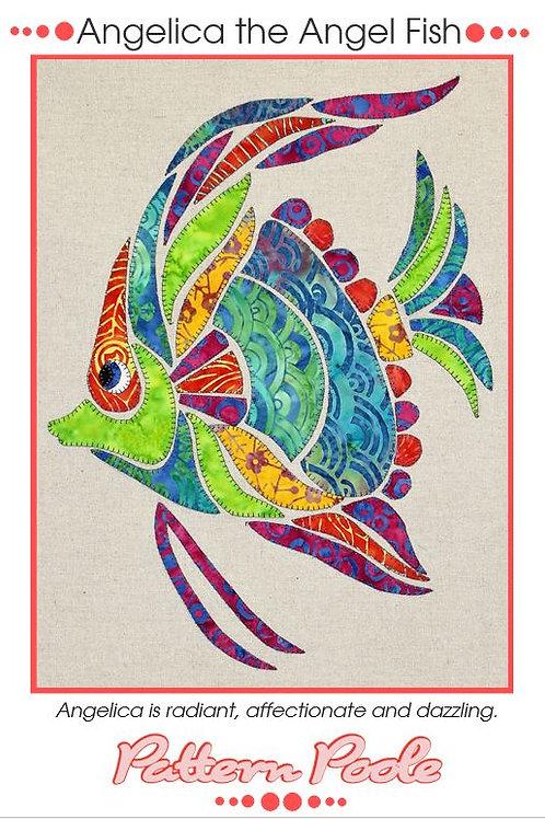 3x Angelica Applique Patterns