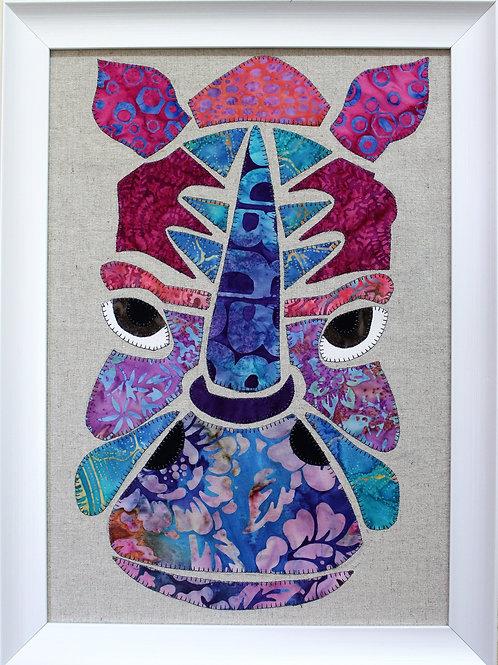 Roni Rhino Appliqué Pattern