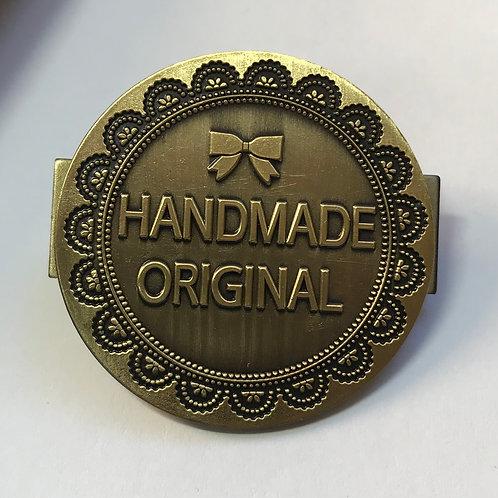 3x Handmade Original Bag Badges