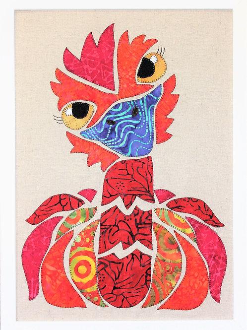 Ekko Emu Appliqué Pattern