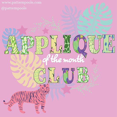 Applique of the Month Club