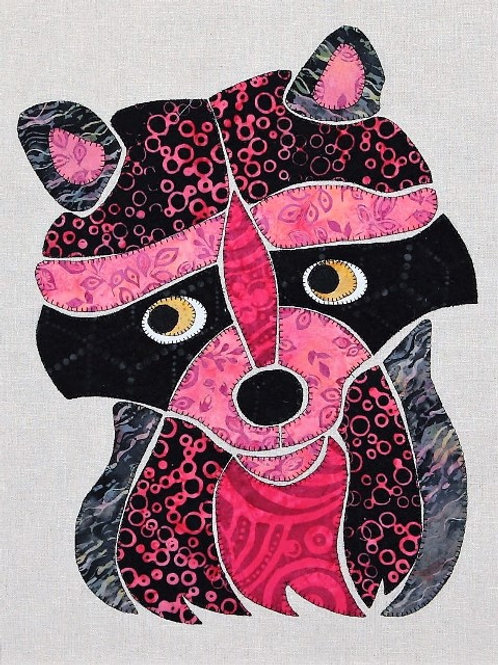 3 x Ricky the Racoon Applique Patterns