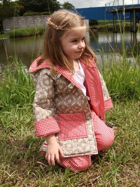 3 x Cosy Coat and Play Pants Patterns