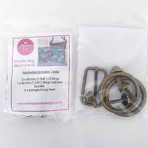 3x Mayfair Bag Hardware Kit