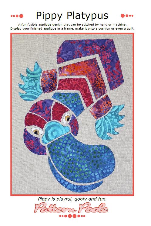 Pippy Platypus Print + Stitch