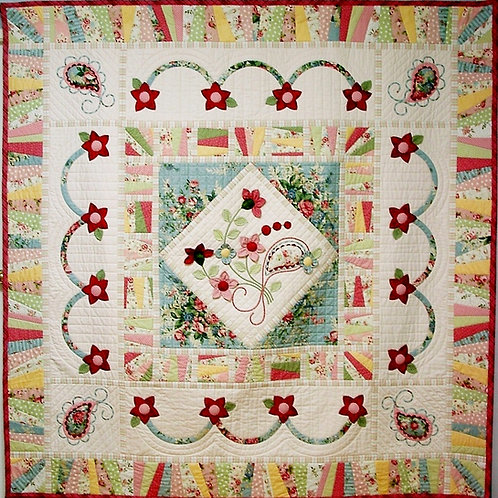 Gidget Quilt As You Go Quilt Pattern