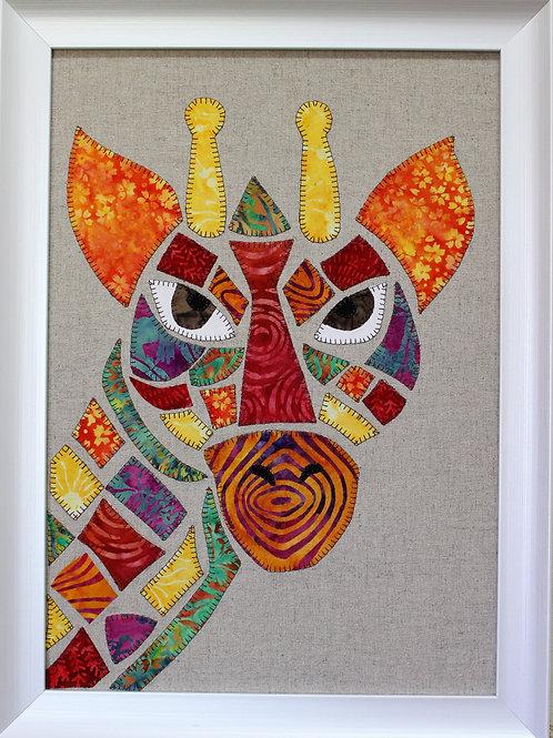 Gi Gi Giraffe Appliqué Pattern