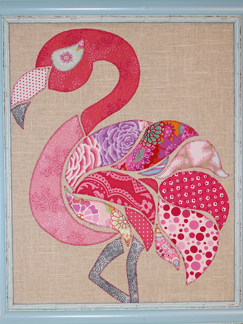 Fi Fi Flamingo Appliqué Pattern