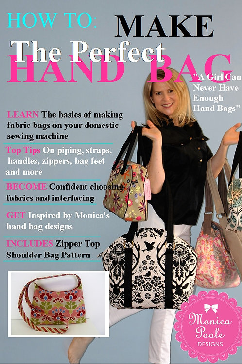 3x How to make the perfect handbag booklet