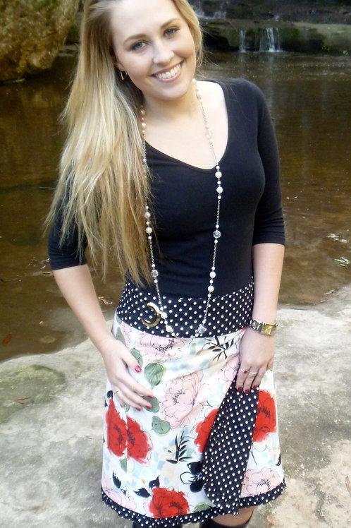 3x Reversible Wrap Skirt