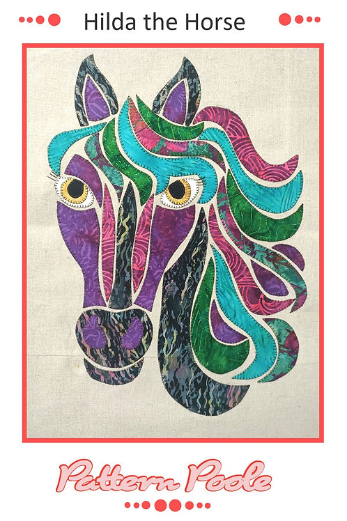 Hilda the Horse Applique Pattern