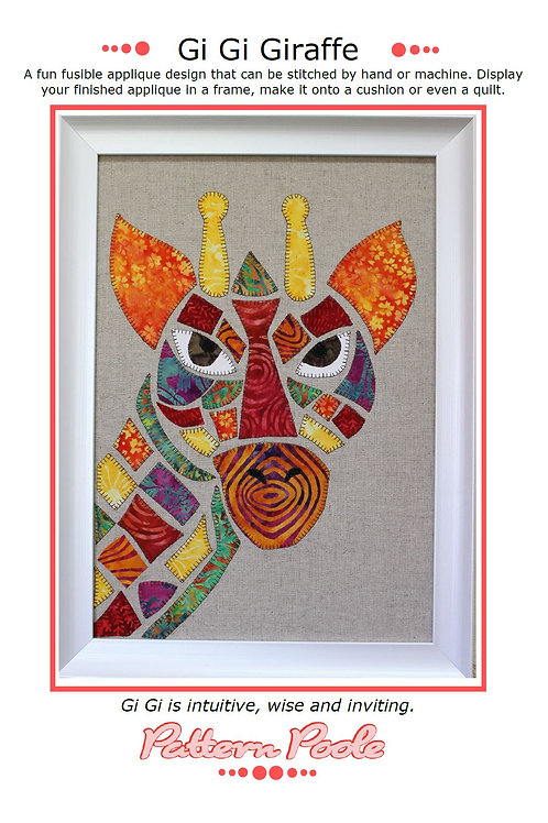 GiGi Giraffe Print + Stitch