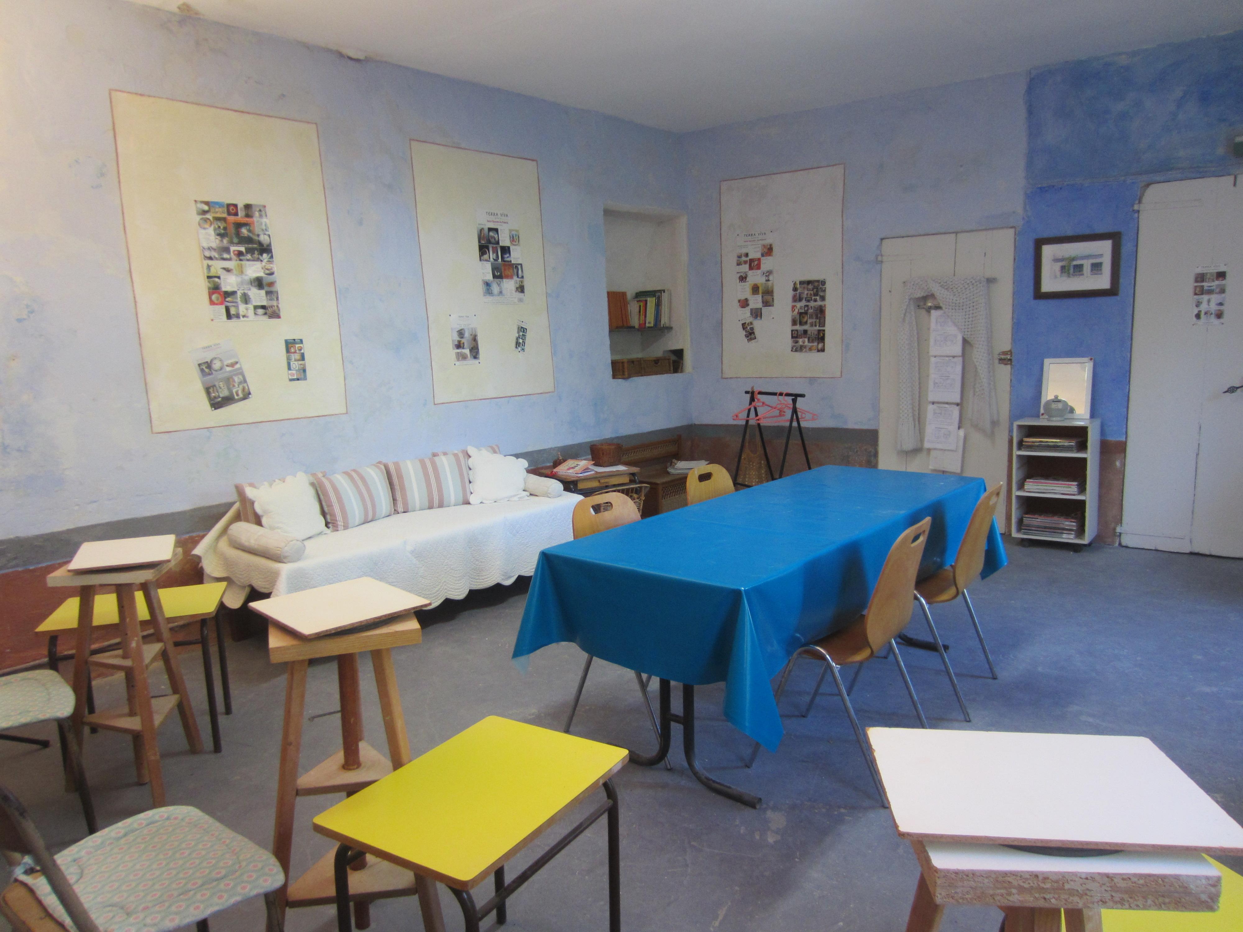 Atelier bleu