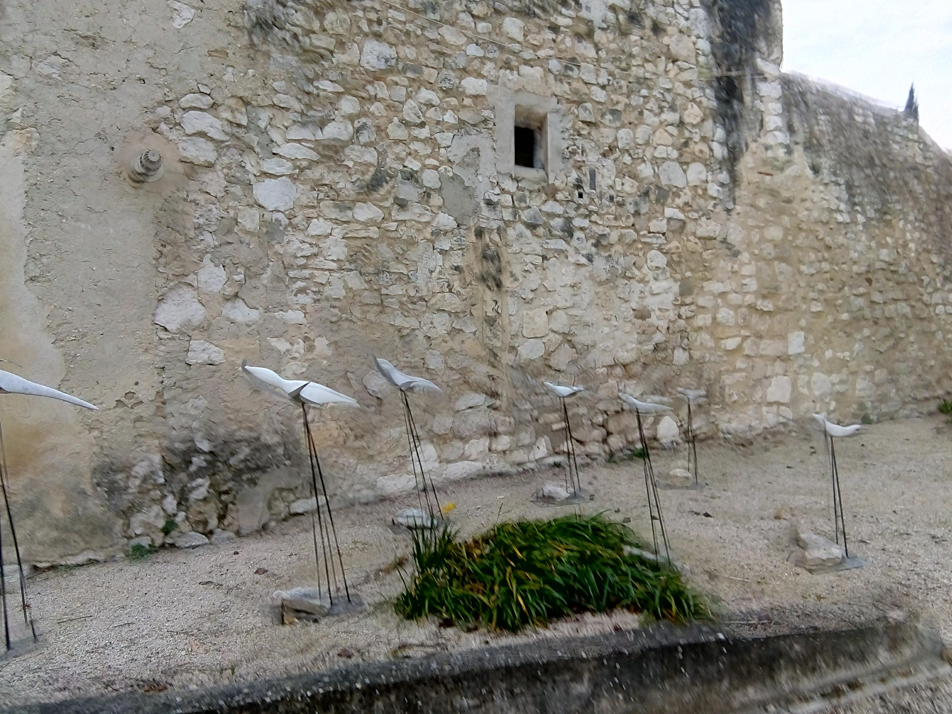 Oiseaux marbre A