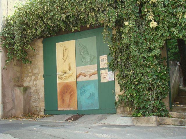 Fresque portail